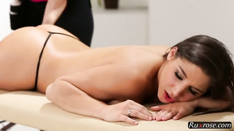 HOT THREESOME LESBIAN MASSAGE