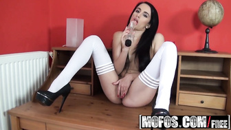 MOFOS - Kerry - Toying Around in Her Stockings