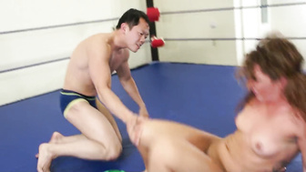 Mixed wrestling - the force milker