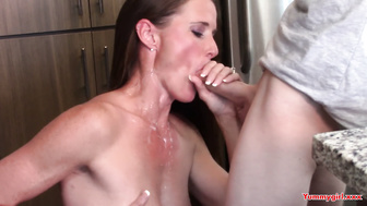 Oral sex mom and stepson (Sofie Marie)